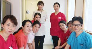 奈良市の松田歯科医院スタッフ一同